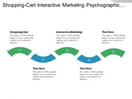 Shopping Cart Interactive Marketing Psychographic Segmentation Reputation Management Cpb