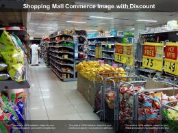 Shopping Mall Commerce Image With Discount