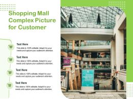 Shopping Mall Complex Picture For Customer
