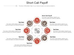 Short Call Payoff Ppt Powerpoint Presentation Professional Slide Cpb