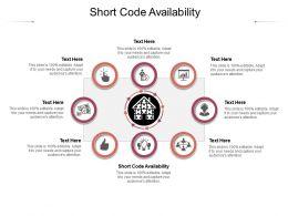 Short Code Availability Ppt Powerpoint Presentation Portfolio Inspiration Cpb
