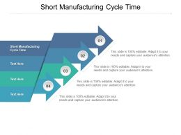 Short Manufacturing Cycle Time Ppt Powerpoint Presentation Ideas Layouts Cpb