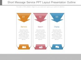 Short Message Service Ppt Layout Presentation Outline