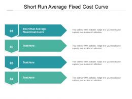 Short Run Average Fixed Cost Curve Ppt Powerpoint Presentation Professional Layout Cpb