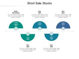 Short Sale Stocks Ppt Powerpoint Presentation Pictures Objects Cpb