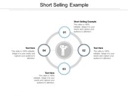 Short Selling Example Ppt Powerpoint Presentation Model Visuals Cpb