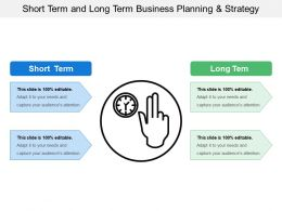 Short Term And Long Term Business Planning And Strategy
