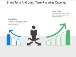 Short Term And Long Term Planning Covering Business Employee Directions