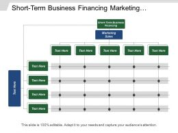Short Term Business Financing Marketing Sales Sales Performance