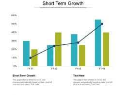 Short Term Growth Ppt Powerpoint Presentation Icon Skills Cpb