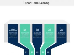 Short Term Leasing Ppt Powerpoint Presentation Layouts Tips Cpb