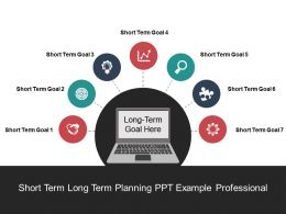Short Term Long Term Planning Ppt Example Professional