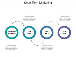 Short Term Marketing Ppt Powerpoint Presentation Icon Deck Cpb