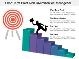 Short Term Profit Risk Diversification Managerial Organizational Skills