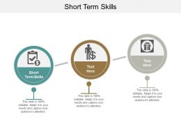 Short Term Skills Ppt Powerpoint Presentation Ideas Maker Cpb