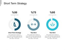 Short Term Strategy Ppt Powerpoint Presentation Gallery Background Cpb