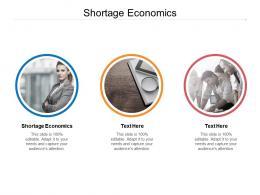 Shortage Economics Ppt Powerpoint Presentation Slides Master Slide Cpb