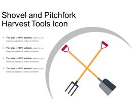 Shovel And Pitchfork Harvest Tools Icon