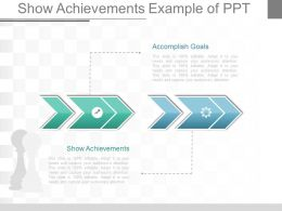 Show Achievements Example Of Ppt