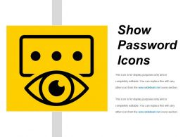 Show Password Icons