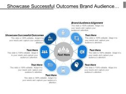 Showcase Successful Outcomes Brand Audience Alignment Business Operations