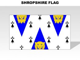 Shropshire Country Powerpoint Flags
