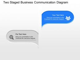 si_two_staged_business_communication_diagram_powerpoint_template_Slide01