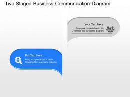 si_two_staged_business_communication_diagram_powerpoint_template_Slide02