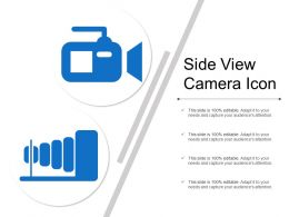 Side View Camera Icon