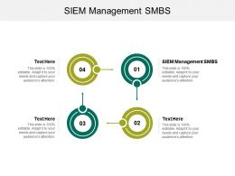 SIEM Management SMBS Ppt Powerpoint Presentation File Ideas Cpb