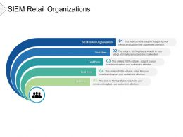 SIEM Retail Organizations Ppt Powerpoint Presentation Summary Guidelines Cpb