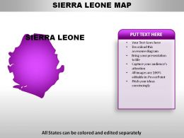 Sierra Leone Country Powerpoint Maps