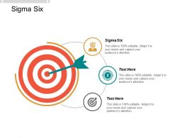 Sigma Six Ppt Powerpoint Presentation Gallery Background Image Cpb