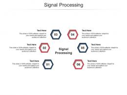 Signal Processing Ppt Powerpoint Presentation Summary Diagrams Cpb