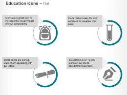 Signature Test Tube Bag Degree Ppt Icons Graphics