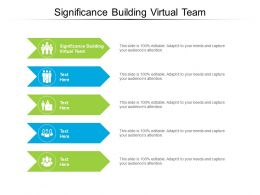 Significance Building Virtual Team Ppt Powerpoint Show Layout Cpb