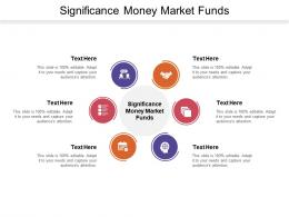 Significance Money Market Funds Ppt Powerpoint Presentation Slides Styles Cpb