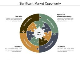 Significant Market Opportunity Ppt Powerpoint Presentation Ideas Design Ideas Cpb