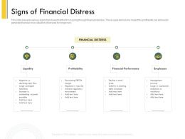 Signs Of Financial Distress Payable Ppt Powerpoint Presentation File Formats