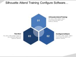 Silhouette Attend Training Configure Software Test Configuration Gears