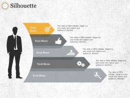 Silhouette Ppt Professional Example Introduction