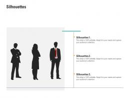 Silhouettes Application Programming Interfaces Ecosystem Ppt Summary