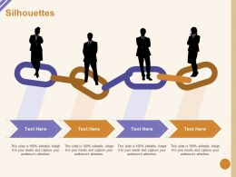 Silhouettes Attention M1053 Ppt Powerpoint Presentation Ideas Example Topics