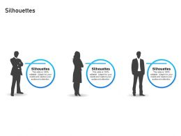 Silhouettes Attention M2323 Ppt Powerpoint Presentation Professional Objects