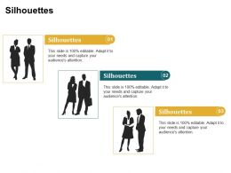Silhouettes Audiences Attention Capture Ppt Powerpoint Presentation Inspiration