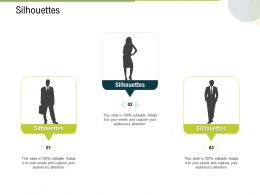 Silhouettes C1646 Ppt Powerpoint Presentation Gallery Layout