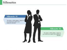 Silhouettes Communication C349 Ppt Powerpoint Presentation File Design Templates