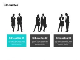 Silhouettes Communication Management L173 Ppt Powerpoint Presentation