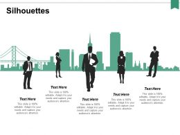 Silhouettes Communication Ppt Powerpoint Presentation Professional Pictures