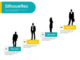 Silhouettes Customer Centric Approac Ppt Powerpoint Presentation Pictures Layout Ideas